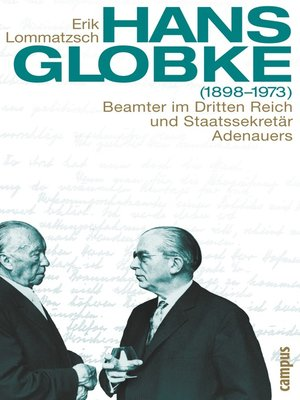 cover image of Hans Globke (1898-1973)