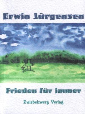 cover image of Frieden für immer