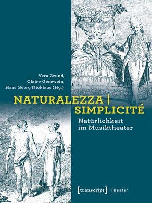 cover image of Naturalezza | Simplicité