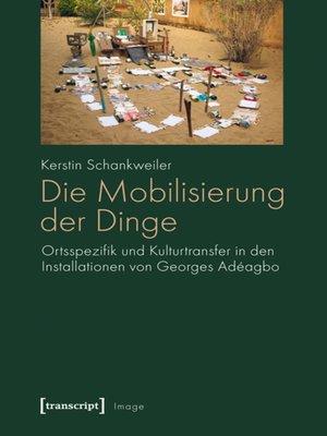 cover image of Die Mobilisierung der Dinge