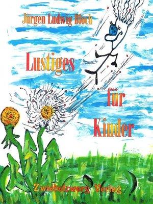 cover image of Lustiges für Kinder