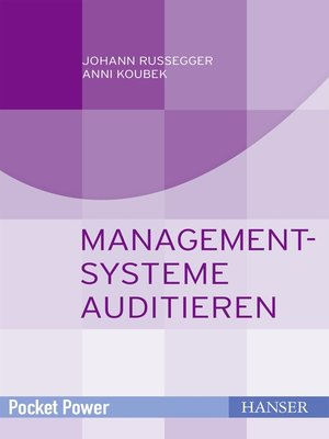 cover image of Managementsysteme auditieren