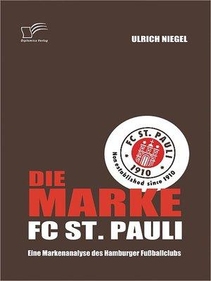 cover image of Die Marke FC St. Pauli