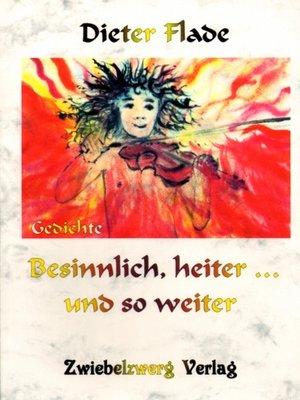 cover image of Besinnlich, heiter... und so weiter