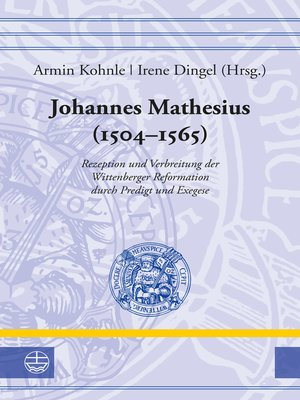 cover image of Johannes Mathesius (1504–1565)