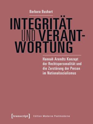 cover image of Integrität und Verantwortung