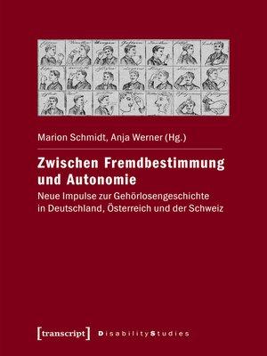 cover image of Zwischen Fremdbestimmung und Autonomie