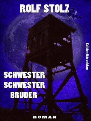 cover image of Schwester Schwester Bruder