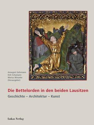 cover image of Die Bettelorden in den beiden Lausitzen