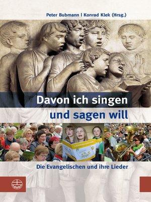 cover image of Davon ich singen und sagen will