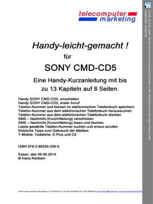 cover image of Sony Ericsson CMD-CD5-leicht-gemacht