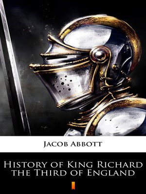 cover image of History of King Richard the Third of England