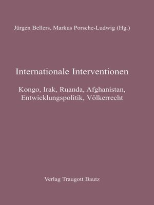 cover image of Internationale Interventionen