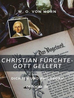 cover image of Christian Fürchtegott Gellert
