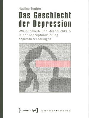 cover image of Das Geschlecht der Depression