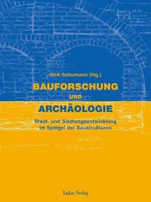 cover image of Bauforschung und Archäologie