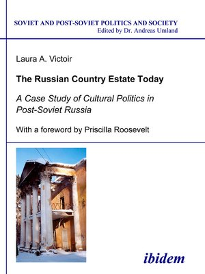 cover image of The Russian Country Estate Today