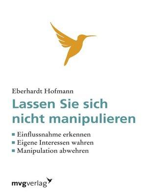 cover image of Lassen Sie sich nicht manipulieren!