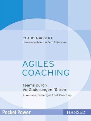 cover image of Agiles Coaching