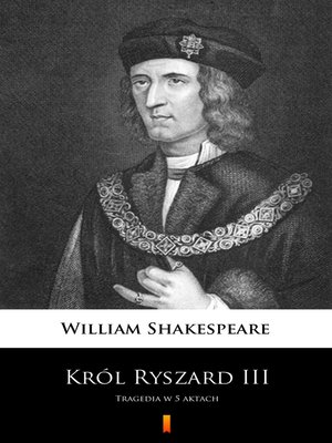 cover image of Król Ryszard III