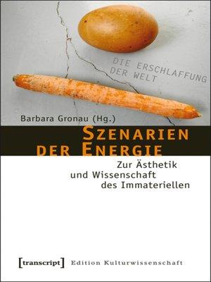 cover image of Szenarien der Energie