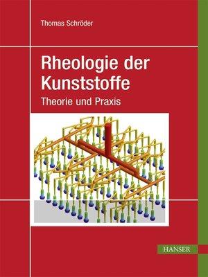 cover image of Rheologie der Kunststoffe