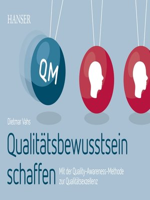 cover image of Qualitätsbewusstsein schaffen