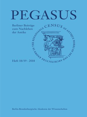 cover image of Pegasus / Pegasus 18/19