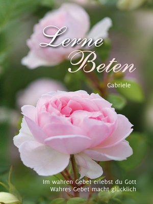 cover image of Lerne Beten