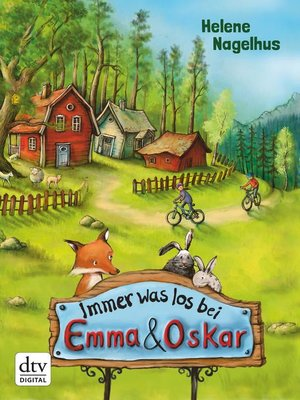 cover image of Immer was los bei Emma & Oskar