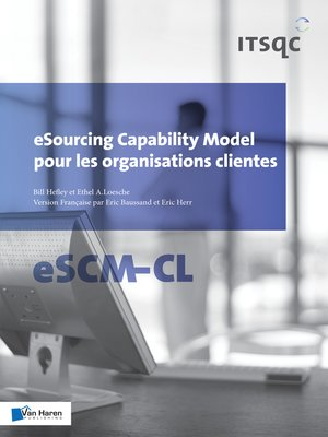 cover image of eSourcing Capability Model pour les organisations clientes--eSCM-CL