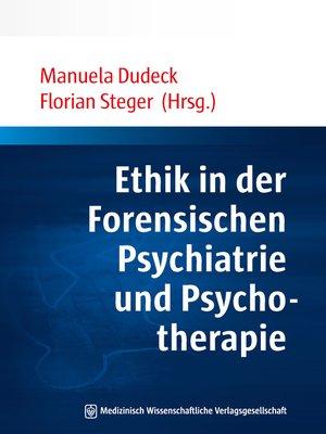 cover image of Ethik in der Forensischen Psychiatrie und Psychotherapie