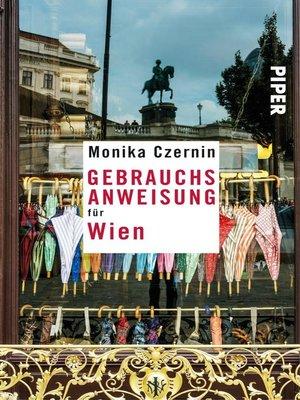 cover image of Gebrauchsanweisung für Wien
