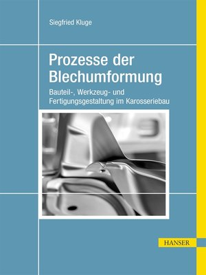 cover image of Prozesse der Blechumformung