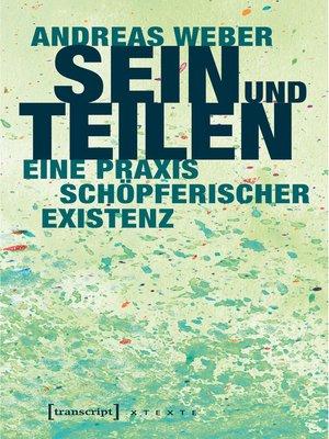 cover image of Sein und Teilen