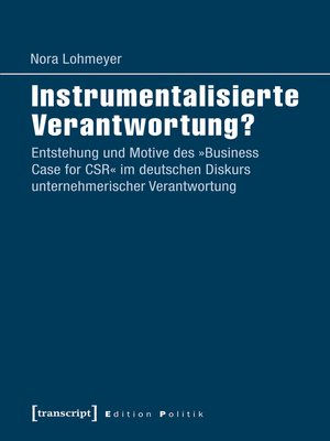 cover image of Instrumentalisierte Verantwortung?