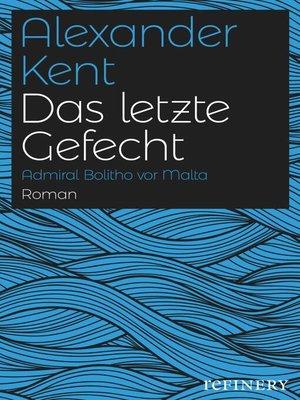 cover image of Das letzte Gefecht