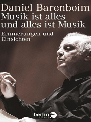 cover image of Musik ist alles und alles ist Musik