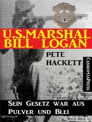 cover image of U.S. Marshal Bill Logan 16