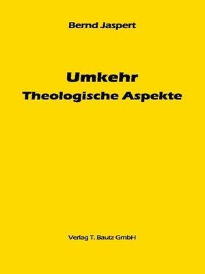 cover image of Umkehr