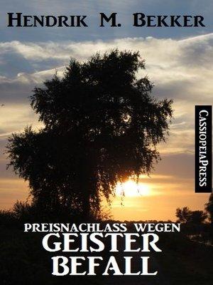 cover image of Preisnachlass wegen Geisterbefall