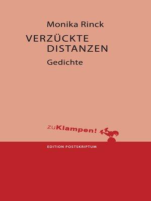 cover image of Verzückte Distanzen