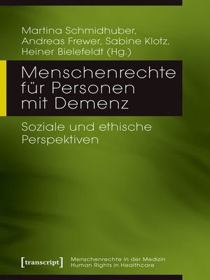 cover image of Menschenrechte für Personen mit Demenz