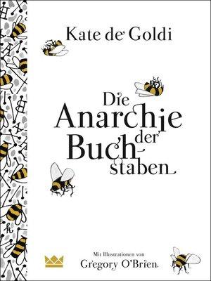 cover image of Die Anarchie der Buchstaben