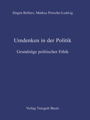 cover image of Umdenken in der Politik.