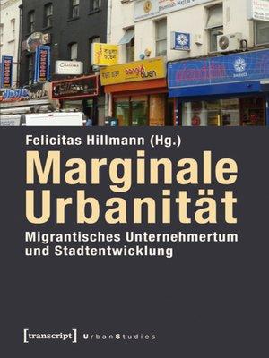 cover image of Marginale Urbanität