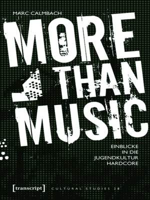 cover image of More than Music