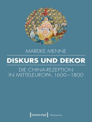 cover image of Diskurs und Dekor