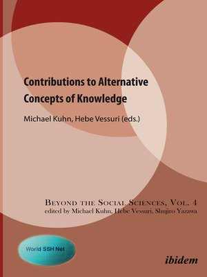 cover image of Contributions to Alternative Concepts of Knowledge