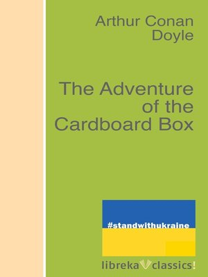 cover image of The Adventure of the Cardboard Box
